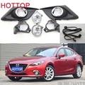 FOR car Mazda 3 Axela halogen light,2014~2016,2pcs,Mazd3 Axela fog light;car-covers,FOR Mazd3 Axela og lamps accessories