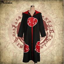 Naruto Cosplay Akatsuki Cloak Costume