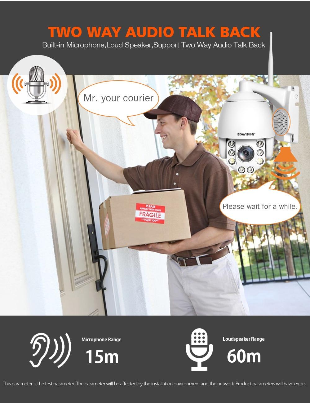HTB1hjPraHr1gK0jSZR0q6zP8XXaq Wifi PTZ IP Camera 1080P 3MP 5MP Super HD 5X Zoom Two Way Audio Wireless PTZ Cam Outdoor 60m IR Video Home Security Camera P2P
