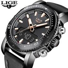 Men Rubber LED Digital Sports LIGE9901