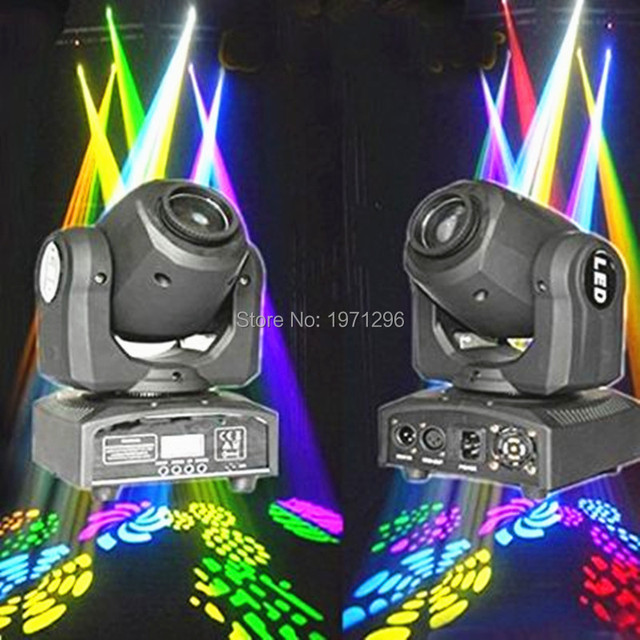 2pcs/lot 10w Led Spot Light 1*10w Moving Head Light Ac100-240v 50/60 Hz Professional Stage & Dj /Bar/Home Entertainment...