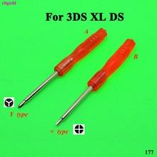 cltgxdd для Нинтендо 3DS 3DSLL 3DSXL мини-системы Philips пересечь & три крыла отвертка инструмент открыть лезвие для DS Lite и DSI ДСЛ