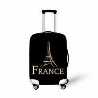 Forudesigns 새로운 여행 액세서리, 프랑스 파리 에펠 탑 인쇄 안티 스크래치 수하물 커버 18