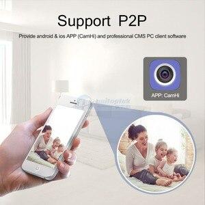 Image 2 - Беспроводная скоростная купольная IP камера PTZ, Wi Fi, HD, 1080P, 2 МП, автофокус, 5 кратный зум, 2,7 13,5 мм, внутреннее аудио, SD карта, ИК, ночная, Onvif, P2P