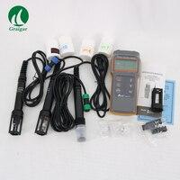 Распродажа! Бесплатная доставка оригинальный AZ86031 качество воды измерительный прибор портативный IP67 Комбинированный рН/конд./Do