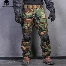 EMERSONGEAR боевые брюки охотничьи брюки Emerson G3 Тактические страйкбол боевые брюки военные BDU Airsoft Униформа Лесной