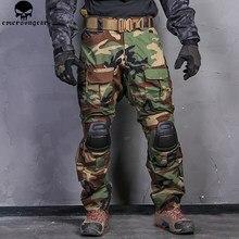 Emersongear combate calças de caça emerson g3 tático airsoft combate calças militar bdu airsoft uniforme floresta