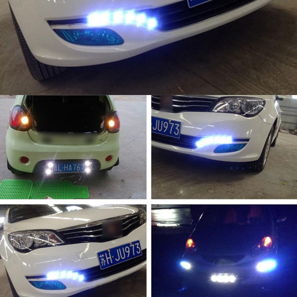 LEADTOPS 10Pcs / Lot Gəliş 10W 12V 5730 LED Qartal Göz 3 SMD LED - Avtomobil işıqları - Fotoqrafiya 5