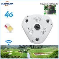 3MP IP Camera3G 4G GSM SIM Wireless IP Camera IR CUT Night Vision CCTV Video Surveillance Onvif Cameras Fisheye 360 degree