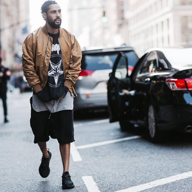 Mens Jackets And Coats Justin Bieber Kanye Brand Clothing Men