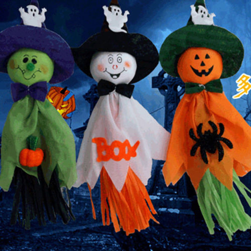 Image 4 - Halloween Ghost Hanging Decoration Indoor/Outdoor Specter Party Ornament Utility-in Party DIY Decorations from Home & Garden