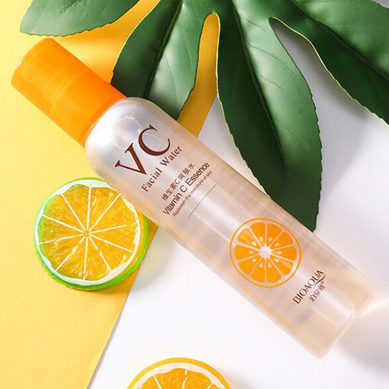 BIOAQUA Vitamin C Toner Hydrating Moisturizing Refreshing Shrinking Pore VC Spray Anti-aging Anti-wrinkle Facial Water Skin Care
