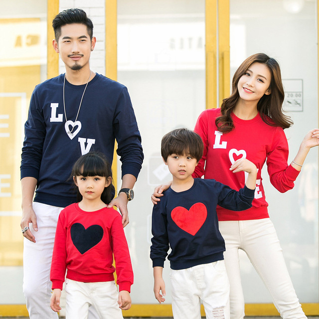 Kersttrui Gezin.Christmas Family Matching Clothes Father Mother Daughter Son Mommy