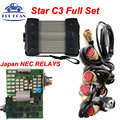 Quality A++ MB STAR C3 With NEC Relays MB Diagnostic Tool Star C3 Multiplexer Tester MB Star C3 Full Set With All Strong Cables