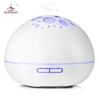 GX Diffuser 300ml Ultrasonic Air Humidifier Essential Oils Aroma Diffuser Household Appliances LED Night Light Aromatherapy