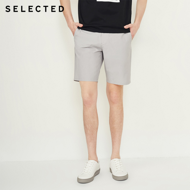 SELECTED Men Spring And Summer Business Leisure Short Pant | 4182SH546