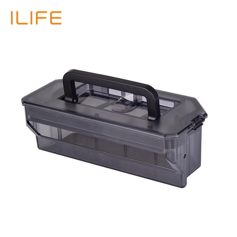 ILIFE Original Accessory Dust Box for V7s V7s Pro original vgod pro drip rda for vgod pro mech mod pro 150 box bottom airflow delrin drip tip huge vapor 24mm large build deck