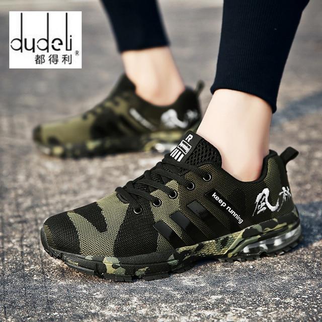 DUDELI 2018 Heißer verkauf Mode Casual Schuhe Für Männer Hohe qualität Atmungsaktive Leichte Lace-up Unisex Männlichen schuhe Nicht -slip schuhe