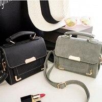 Free Shipping 2017 New Fashion Handbags Trend Messenger Bag Simple Korean Version Women Bag Solid Color