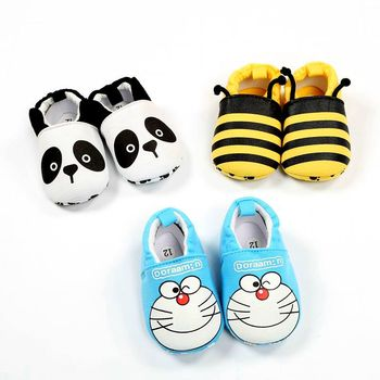 2019New Baby Infant Superman Bee Shoes Soft 0-18M Boys Girls Casual Shoes Fashion Shoes Spring Autumn Fashion Baby First Walker 1