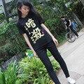 Assassination Classroom black / white unisex t shirt Ansatsu Kyoushitsu short t-shirt men women clothing summer Tops Tees