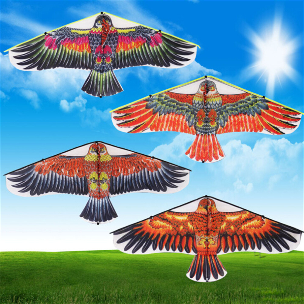 1pc Family Outings Outdoor Fun Sports Flying Eagle Kite