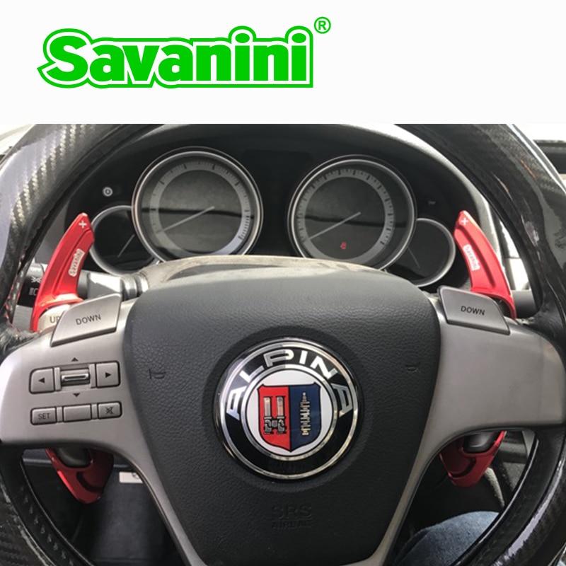 Savanini 2db-os alumínium kormánykerék-váltó - Autóalkatrész