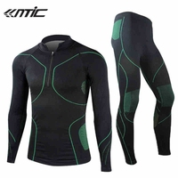 2015 New SANTIC Cycling Suits Men S Long Sleeve Underclothes Outdoor Sports Thermal Underwear Wrestling Singlet