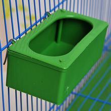 Домашние птицы Висячие кормушки еда для попугая миска для воды Кормление брызгозащищенная чашка пластиковая клетка для птиц голубей кормушка