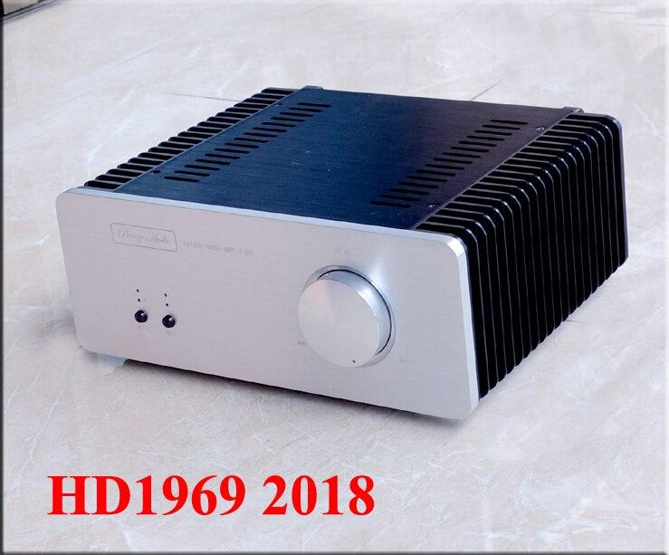Amplificador de Áudio em Casa w plus 10 2018 Hifi Áudio Brisa Nova Edição Ouro Selado Hood1969 2.0 Classe um 10 w