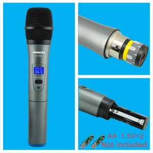 Image 4 - Freeboss KV 22 VHF 2 Handheld Wireless Microphone Dynamic Capsule Family Party Mixed Output  Wireless Microphone
