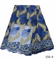 African Lace Fabric 2019 Embroidered French Laces Fabric High Quality French Tulle Lace Fabric For Wedding Party Dress 156