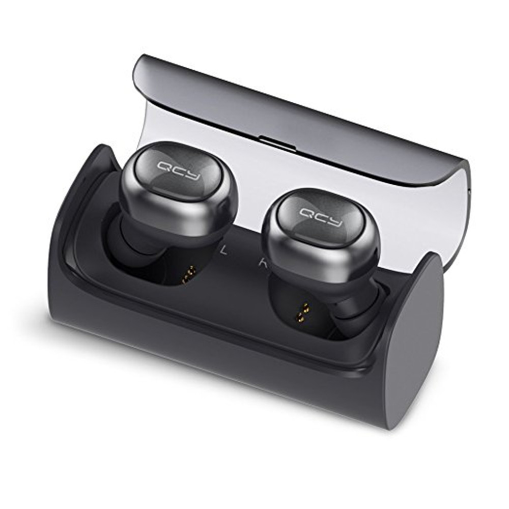 QCY Q29 Mini Dual V4.1 Wireless Earbuds Bluetooth Headphones With Charging Case Stereo Music