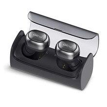 Qcy q29 мини двойной v4.1 беспроводные наушники bluetooth наушники с зарядным случае стерео музыку время встроенный микрофон для всех смартфонов