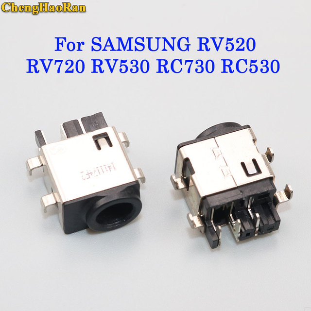 ChengHaoRan Para SAMSUNG RV520 RV720 RV530 RC730 RC530 RF411 RF511 RF710 RF711 DC Power Jack Conector de alimentação cabo