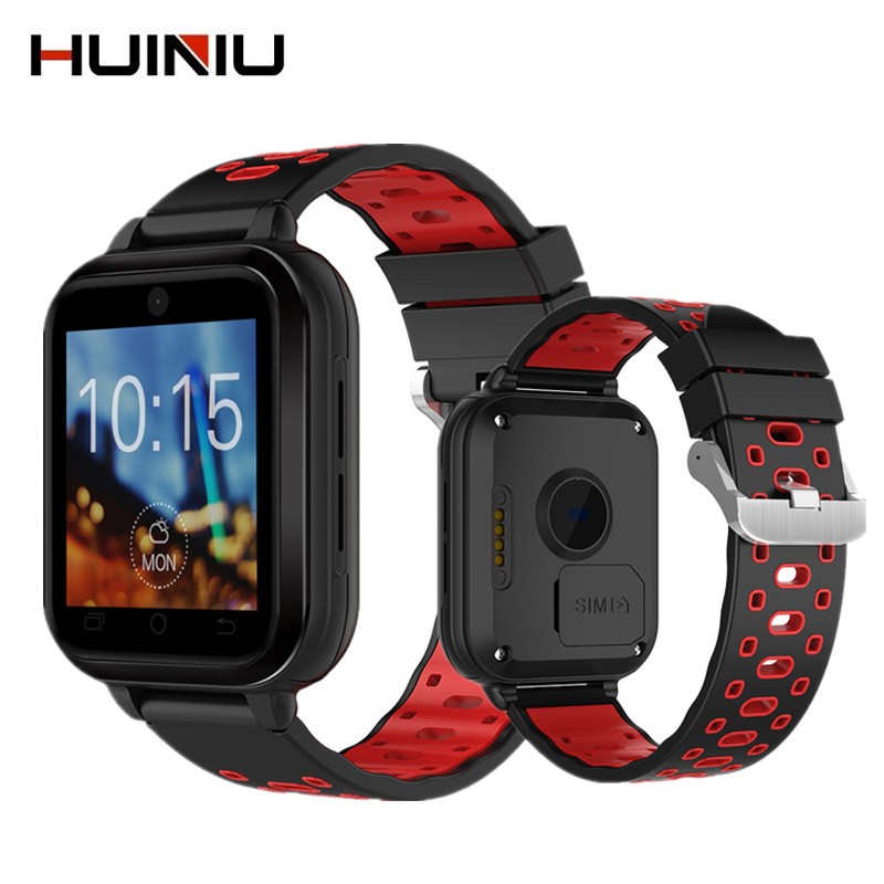 HUINIU Q1 Pro 4G Smart Watch Android 6.0 GPS Camera SmartWatch Phone Heart Rate Moniter Sim Card Support Change Strap Wristwatch crcular shape no 1 d5 android 4 4 bluetooth gps smart watch with heart rate monitor google play gps 4g rom 512m ram smartwatch