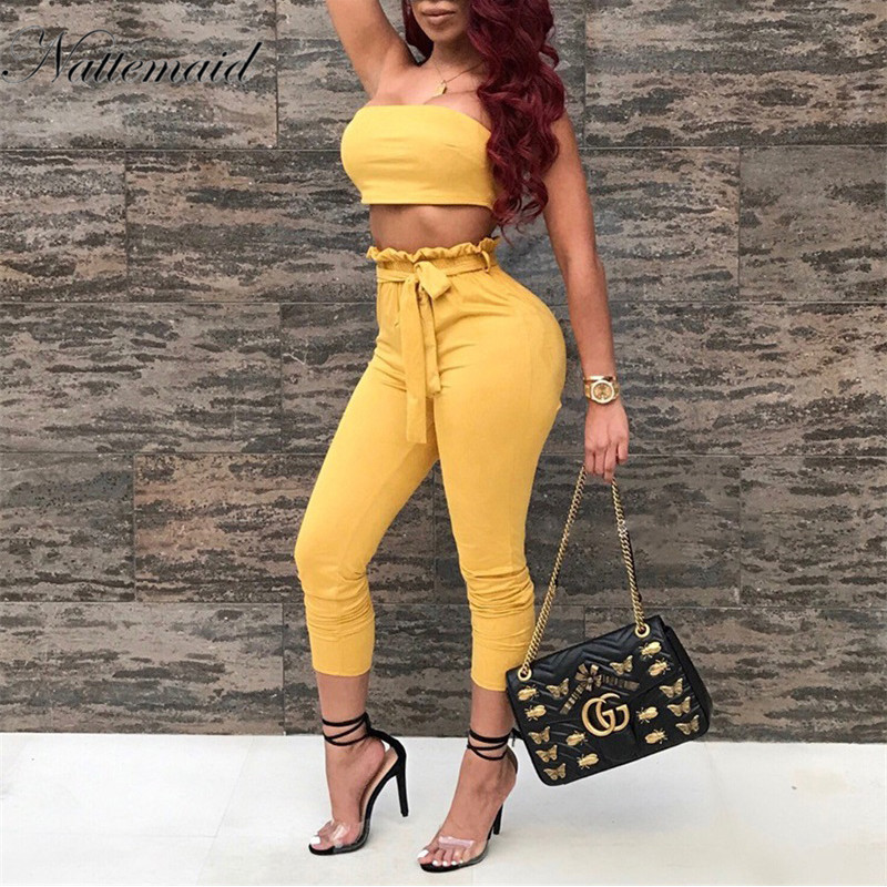 fb3232236270 NATTEMAID Autumn Women suede Rompers Jumpsuit women Sleeveless Suede Two  Pieces Outfits Overalls Sexy Club Playsuit jumpsuits-in Jumpsuits from  Women s ...