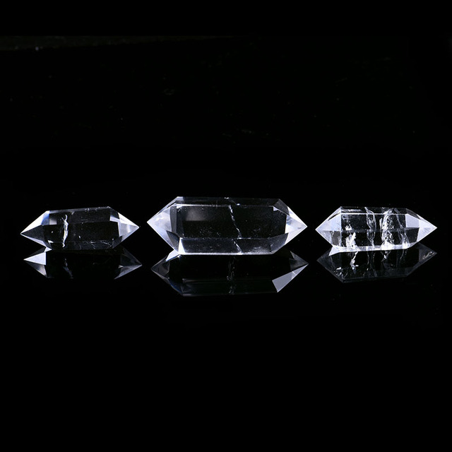 1PC natural white crystal crystal point mineral jewelry magic repair home home decoration study room decoration DIY gift 5