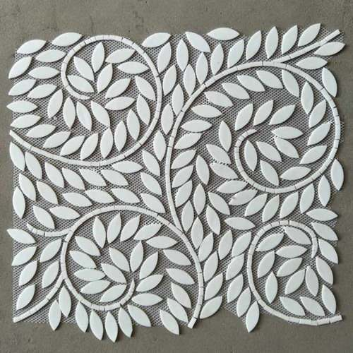 Ravenna Style Tiles Pure White Tiffany