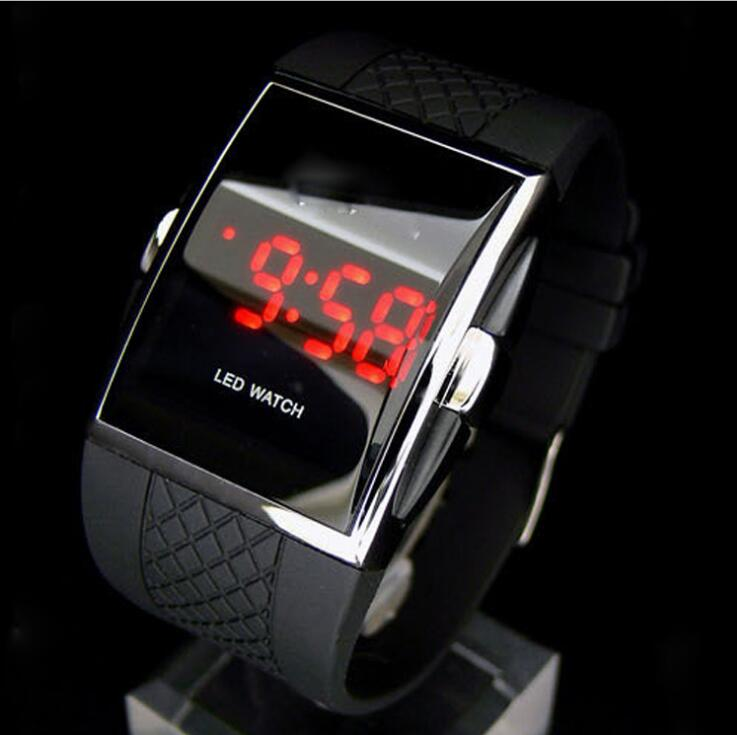 Men Sport LED Watches Men's Digital Watch Men Watches Silicone Electronic Watch Men Clock Relogio Masculino Erkek Kol Saati
