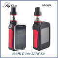 Original Smok G-Priv 220W Touch Screen Kit with GPriv 220 Box Mod Vape and 5ML TFV8 Big Baby Tank Atomizer Vaprozier G Priv 220