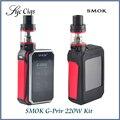Original smok g-priv 220 w kit tela sensível ao toque com gpriv 220 caixa de mod tanque atomizador vape e 5 ml tfv8 grande bebê vaprozier g priv 220