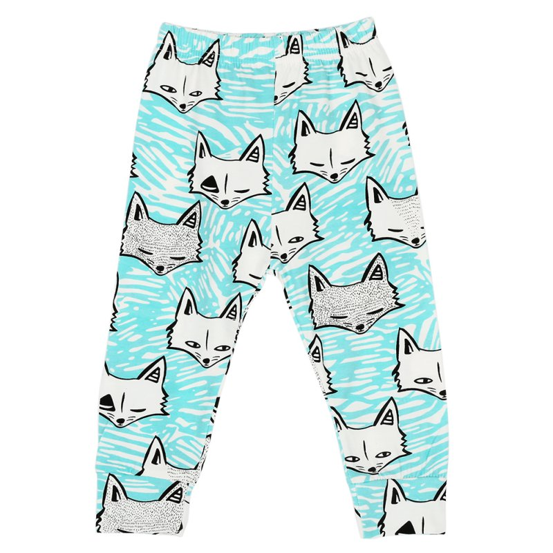 Kids Pants Baby Boys Girls Animal Pattern Loose Casual Leggings Harem Trousers