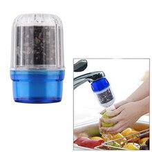 Углем активированным очищают удивительный водопроводной кухонный очиститель фильтр главная кран воды