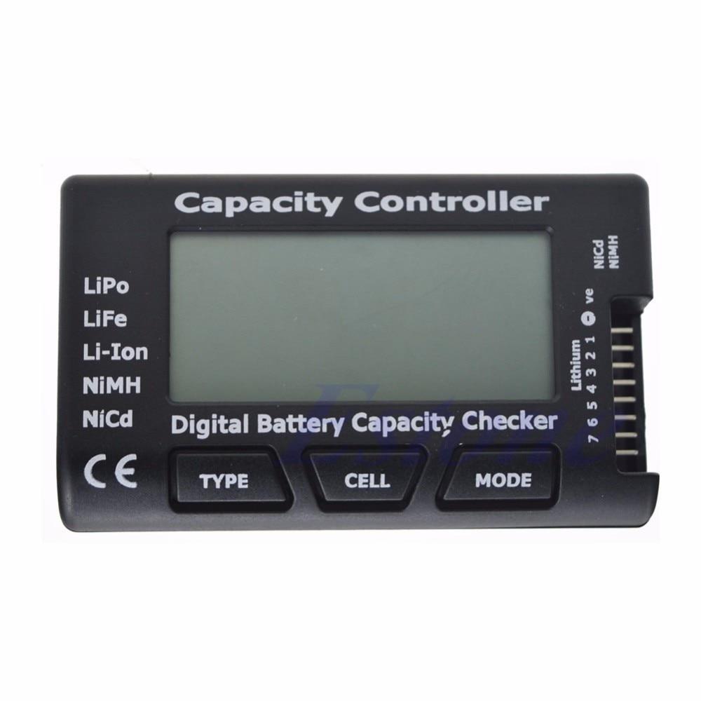 Digital Battery Capacity Checker RC CellMeter 7 For LiPo LiFe Li-ion NiMH Nicd f01974 digital battery capacity checker cell meter for nicd nimh li po life li lon akku cellmeter 7
