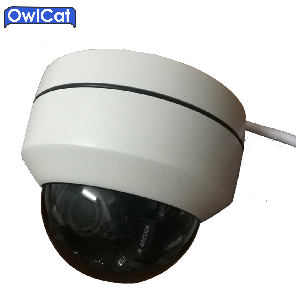 OwlCat SONY Mini CMOS Indoor/Outdoor 1080P Security CCTV Dome IP Camera PTZ 3X OpticaL ZOOM Motorized Network Camera IR Onvif new ahd tvi cvi cvbs 1080p mini ir ptz night vision zoom dome camera zoom lens dome camera with 3x optical zoom 2mp motorized
