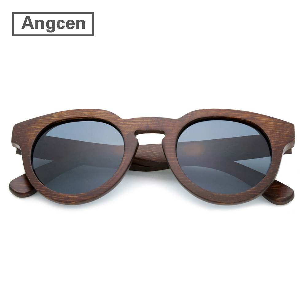 Sunyea Fashion Wood Sunglasses Retro Handmade Vintag Bamboo Sunglasses Men Women Classic Eyewear Street Style Wooden Box Z160502