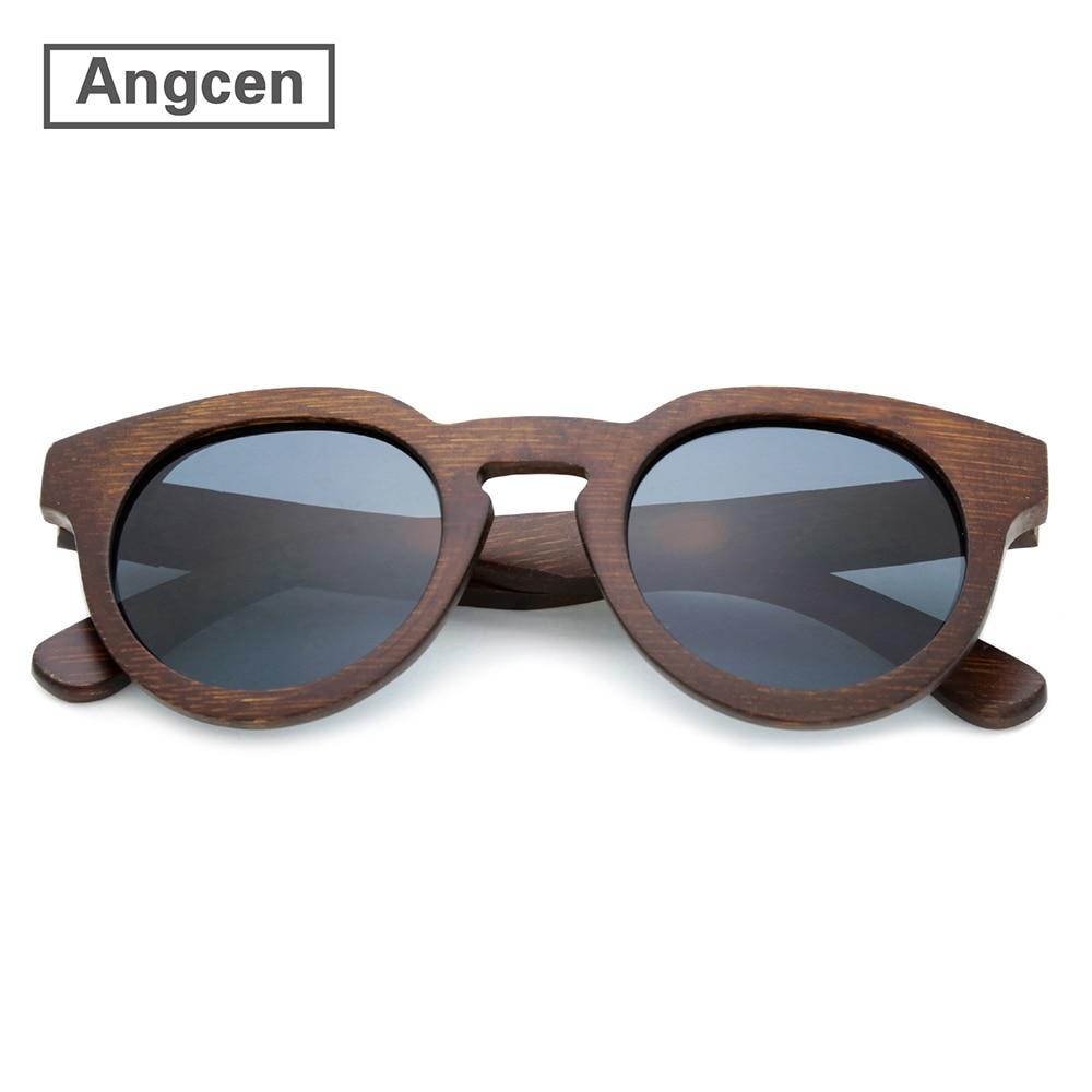 Sunyea Fashion Wood Sunglasses Retro Handmade Vintag Bamboo Sunglasses Men Women Classic Eyewear Street Style Wooden Box Z160502