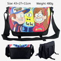 2017 Cartoon Bag Gravity Falls Messenger Canvas Bag Shoulder Travel Bag Sling Pack School Bags 43*27*11CM