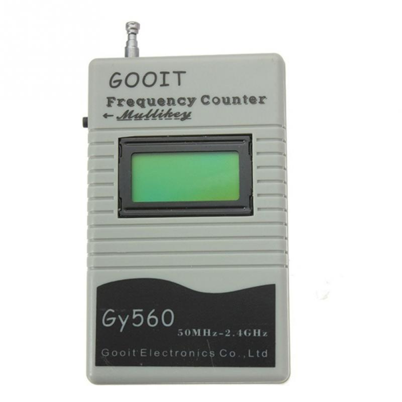 GY560 9V Frequency Counter Meter for Two Way Radio Transceiver GSM 50 MHz 2.4 GHz цена